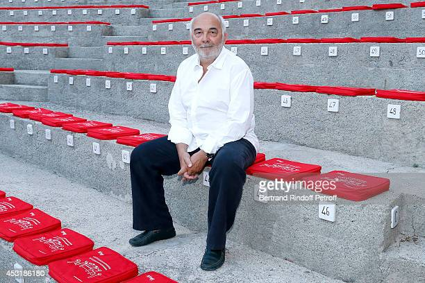 Actor Gerard Jugnot attends the 30th Ramatuelle Festival Day 4 on August 4 2014 in Ramatuelle France