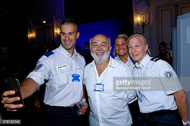 Actor Gerard Jugnot attends the 'Une Nuit avec la Police et la Gendarmerie' France 2 TV Show Held at Ministere de l'Interieur in Paris on June 30...