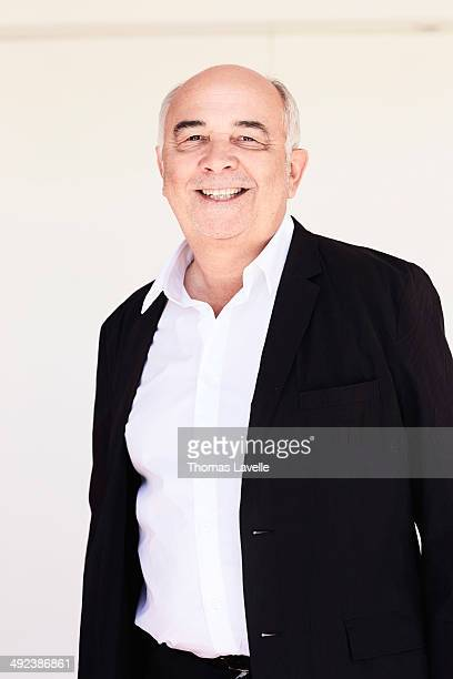 Actor Gerard Jugnot is photographed for Self Assignment on May 17 2014 in Cannes France