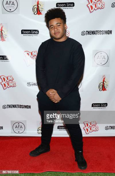 Actor Gerdan Burton attends Mateo Simon's Halloween Charity Event on October 28 2017 in Burbank California