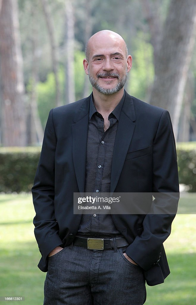 Actor Gian Marco Tognazzi attends 'Viaggio Sola' photocall at Villa Borghese on April 17, 2013 in Rome, Italy.