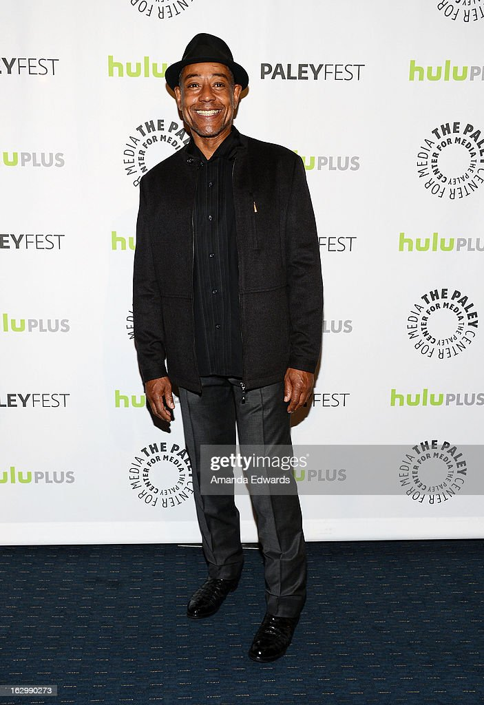 Actor Giancarlo Esposito arrives at the 30th Annual PaleyFest: The William S. Paley Television Festival featuring 'Revolution' at Saban Theatre on March 2, 2013 in Beverly Hills, California.