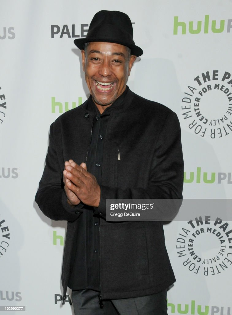 Actor <a gi-track='captionPersonalityLinkClicked' href=/galleries/search?phrase=Giancarlo+Esposito&family=editorial&specificpeople=725984 ng-click='$event.stopPropagation()'>Giancarlo Esposito</a> arrives at the 30th Annual PaleyFest: The William S. Paley Television Festival featuring 'Revolution' at Saban Theatre on March 2, 2013 in Beverly Hills, California.