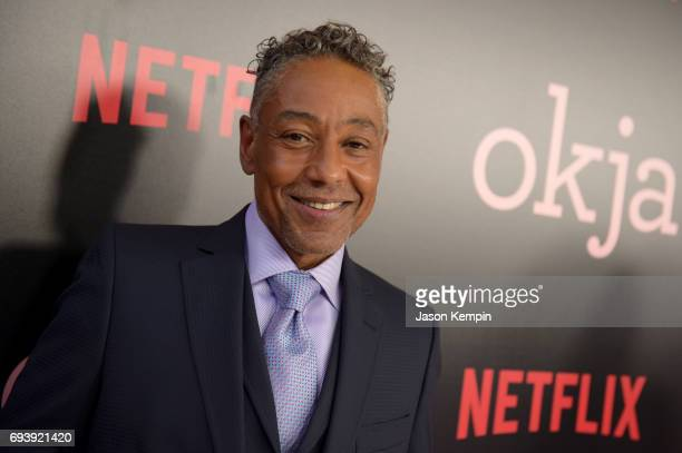 Actor Giancarlo Esposito attends 'Okja' New York Premiere at AMC Loews Lincoln Square 13 on June 8 2017 in New York City