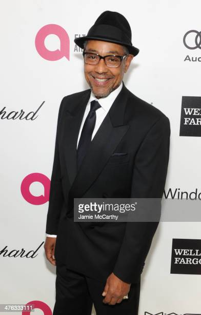 Actor Giancarlo Esposito attends the 22nd Annual Elton John AIDS Foundation Academy Awards Viewing Party at The City of West Hollywood Park on March...