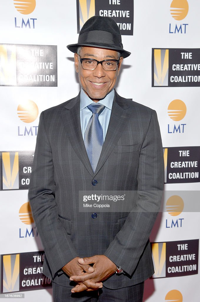 Actor <a gi-track='captionPersonalityLinkClicked' href=/galleries/search?phrase=Giancarlo+Esposito&family=editorial&specificpeople=725984 ng-click='$event.stopPropagation()'>Giancarlo Esposito</a> attends the Celebrating The Arts In American Dinner Party With Distinguished Women In Media Presented By Landmark Technology Inc. And The Creative Coalition at Neyla on April 26, 2013 in Washington, DC.