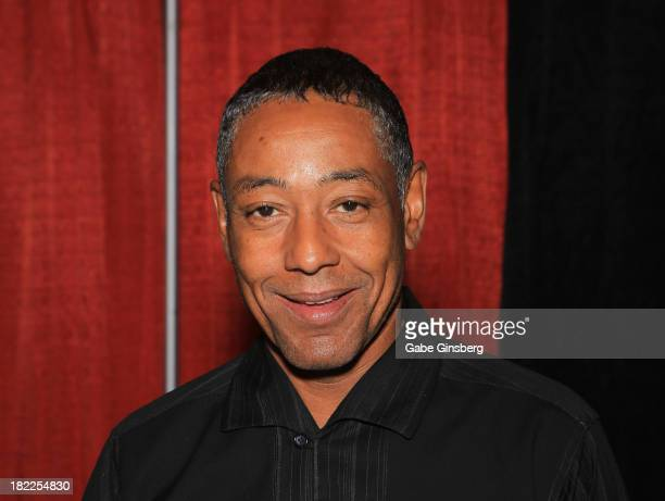 Actor Giancarlo Esposito attends the Las Vegas Comic Expo at the Riviera Hotel Casino on September 28 2013 in Las Vegas Nevada