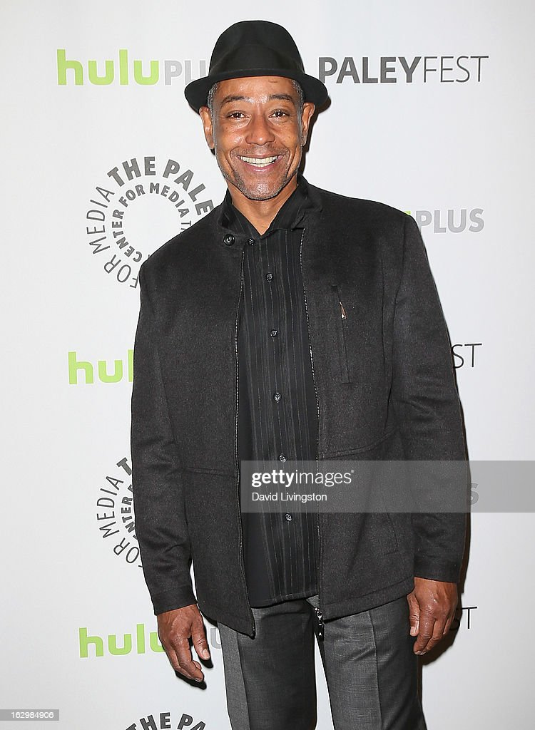 Actor <a gi-track='captionPersonalityLinkClicked' href=/galleries/search?phrase=Giancarlo+Esposito&family=editorial&specificpeople=725984 ng-click='$event.stopPropagation()'>Giancarlo Esposito</a> attends The Paley Center for Media's PaleyFest 2013 honoring 'Revolution' at the Saban Theatre on March 2, 2013 in Beverly Hills, California.