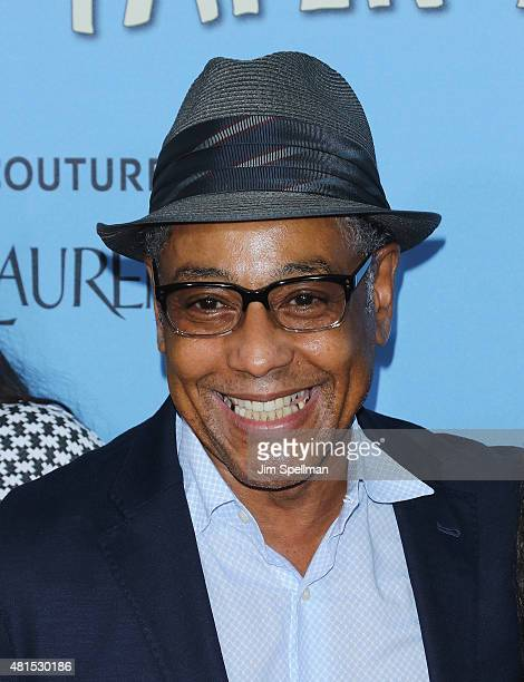 Actor Giancarlo Esposito attends the 'Paper Towns' New York premiere at AMC Loews Lincoln Square on July 21 2015 in New York City