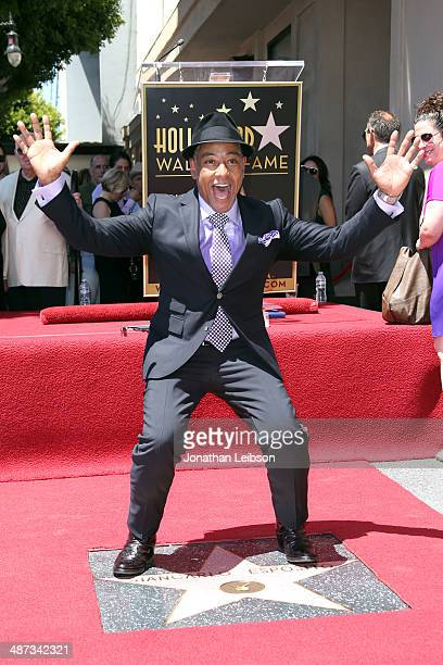 Actor Giancarlo Esposito honored with star on the Hollywood Walk of Fame on April 29 2014 in Hollywood California