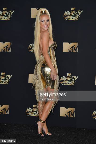 Actor Gigi Gorgeous attends the 2017 MTV Movie and TV Awards at The Shrine Auditorium on May 7 2017 in Los Angeles California