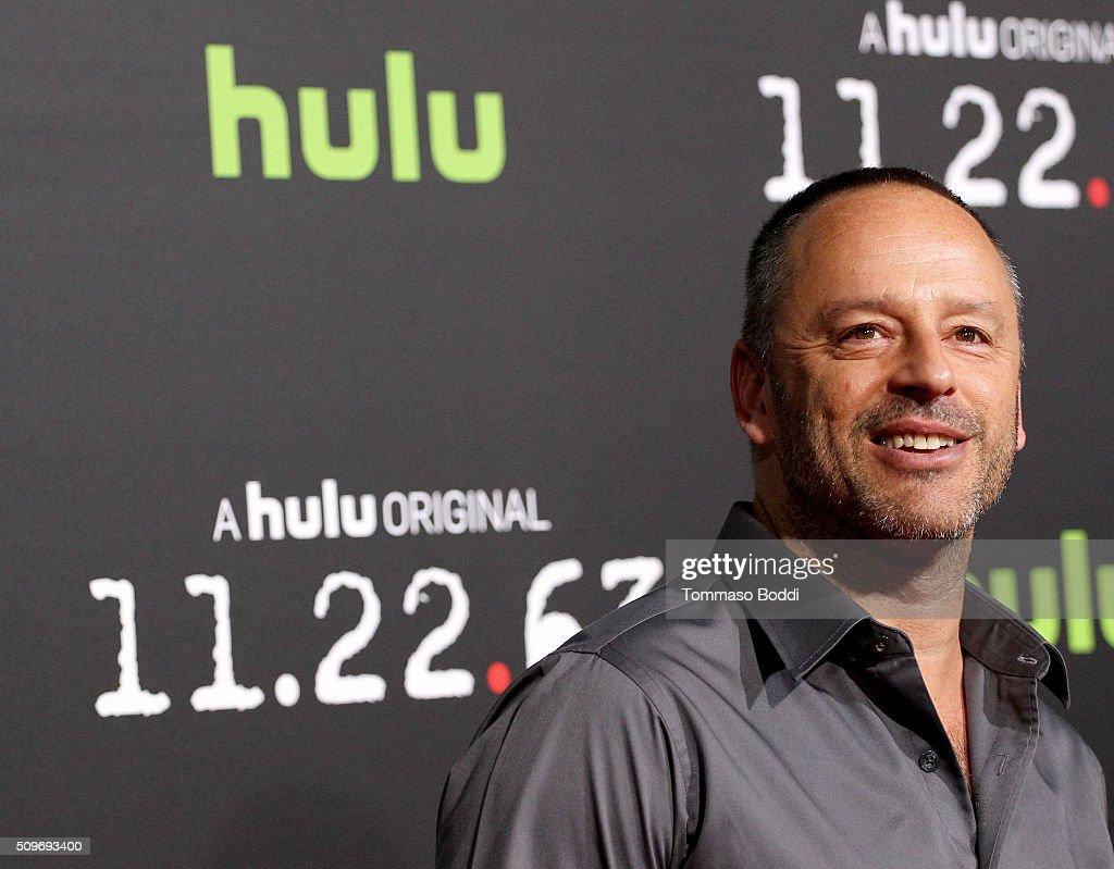 Actor Gil Bellows attends the Hulu Original '11.22.63' premiere at the Regency Bruin Theatre on February 11, 2016 in Los Angeles, California.