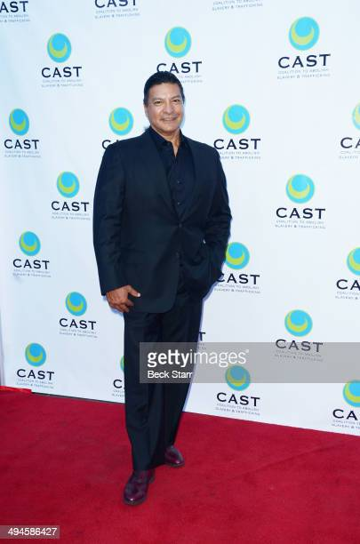 Actor Gil Birmingham arrives at CAST 16th From Slavery To Freedom Gala at Skirball Cultural Center on May 29 2014 in Los Angeles California