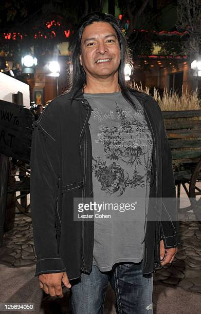 Actor Gil Birmingham arrives at Paramount Pictures' Los Angeles Premiere of 'Rango' held at Regency Village Theatre on February 14 2011 in Westwood...