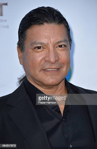 Actor Gil Birmingham arrives at the CAST 16th From Slavery To Freedom Gala at Skirball Cultural Center on May 29 2014 in Los Angeles California