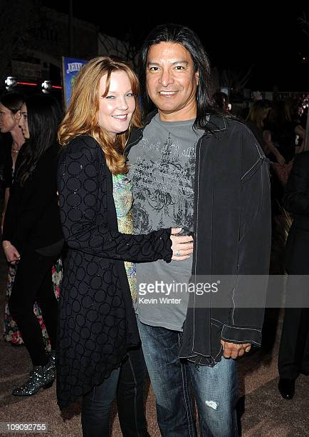 Actor Gil Birmingham arrives at the premiere of Paramount Pictures' 'Rango' at the Regency Village Theater on February 14 2011 in Los Angeles...
