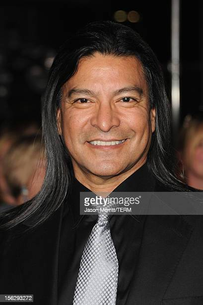 Actor Gil Birmingham arrives at the premiere of Summit Entertainment's 'The Twilight Saga Breaking Dawn Part 2' at Nokia Theatre LA Live on November...
