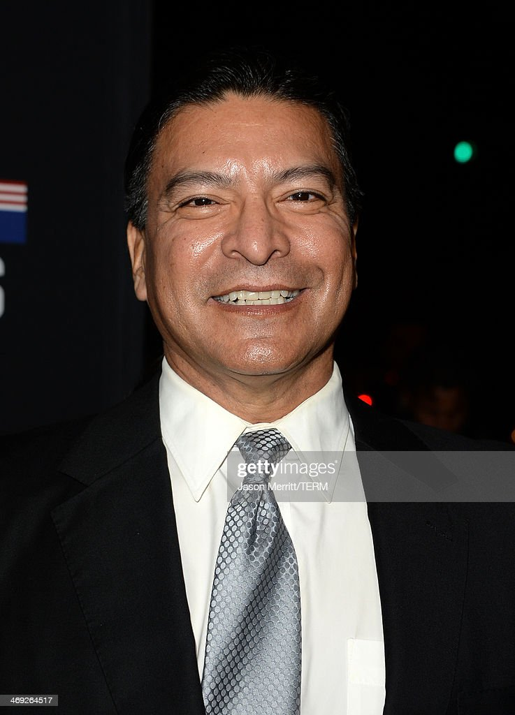 Actor Gil Birmingham arrives at the special screening of Netflix's 'House of Cards' Season 2 at the Directors Guild of America on February 13, 2014 in Los Angeles, California.