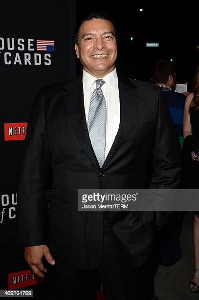 Actor Gil Birmingham arrives at the special screening of Netflix's 'House of Cards' Season 2 at the Directors Guild of America on February 13 2014 in...
