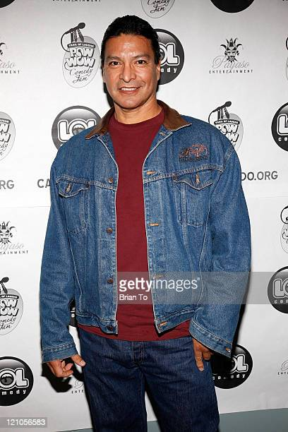 Actor Gil Birmingham attends Showtime's Comedy 'Goin' Native The American Indian Comedy Slam' Premiere at Screen Actors Guild Actor Center on January...