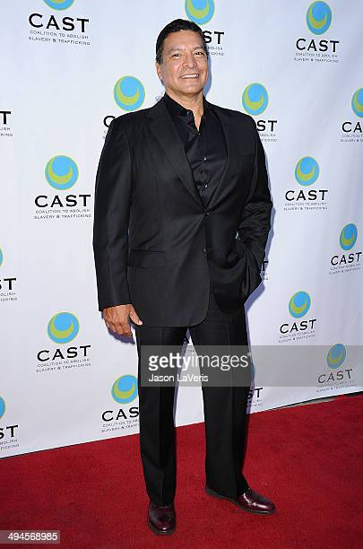 Actor Gil Birmingham attends the 16th From Slavery to Freedom gala at Skirball Cultural Center on May 29 2014 in Los Angeles California