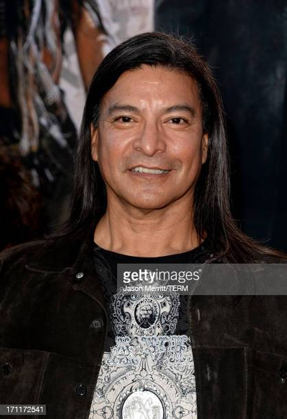 Actor Gil Birmingham attends the premiere of Walt Disney Pictures' 'The Lone Ranger' at Disney California Adventure Park on June 22 2013 in Anaheim...