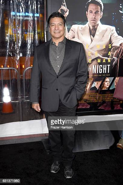 Actor Gil Birmingham attends the premiere of Warner Bros Pictures' 'Live By Night' at TCL Chinese Theatre on January 9 2017 in Hollywood California