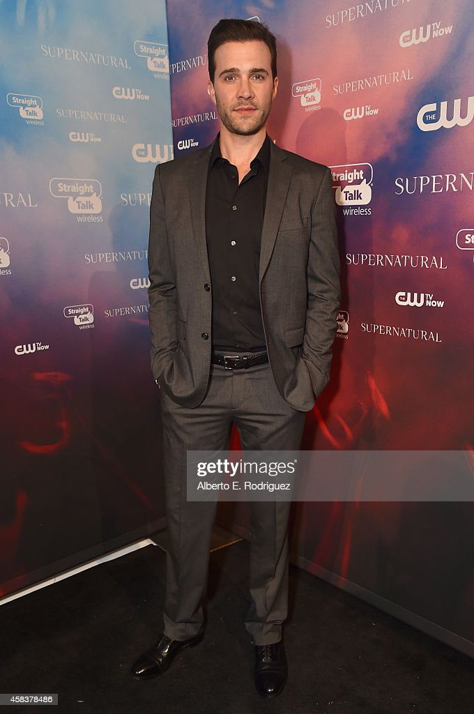 Actor Gil McKinney attends the CW's Fan Party to Celebrate the 200th episode of 'Supernatural' on November 3, 2014 in Los Angeles, California.