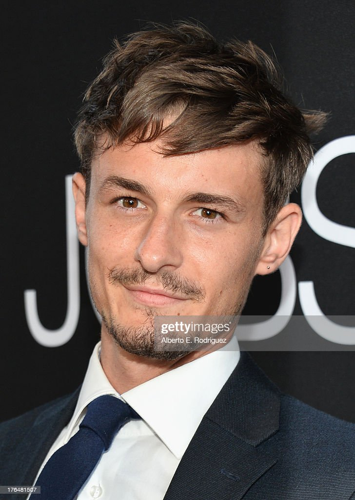 Actor Giles Matthey attends the screening of Open Road Films and Five Star Feature Films' 'Jobs' at Regal Cinemas L.A. Live on August 13, 2013 in Los Angeles, California.