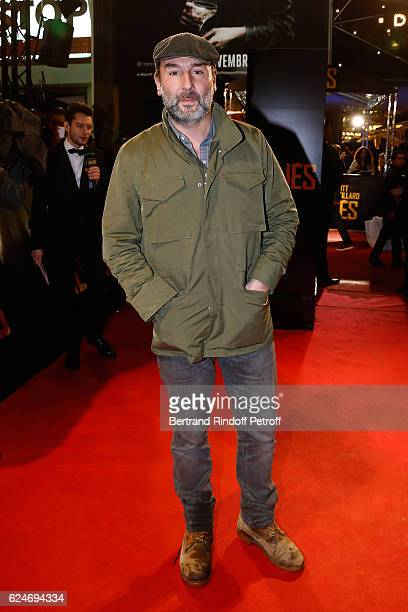 Actor Gilles Lellouche attends the 'Allied Allies' Paris Premiere at Cinema UGC Normandie on November 20 2016 in Paris France