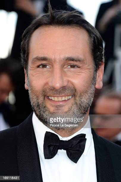 Actor Gilles Lellouche attends the 'Blood Ties' Premiere during the 66th Annual Cannes Film Festival at the Palais des Festivals on May 20 2013 in...