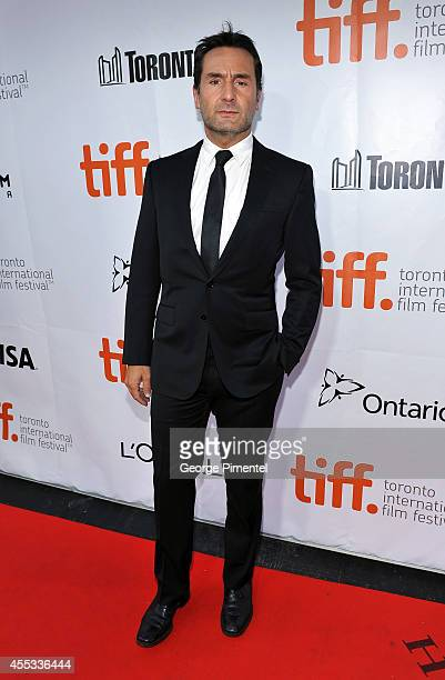 Actor Gilles Lellouche attends 'The Connection' premiere during the 2014 Toronto International Film Festival at Roy Thomson Hall on September 12 2014...