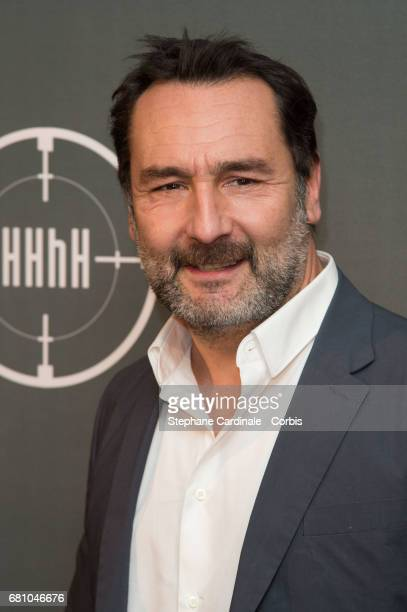 Actor Gilles Lellouche attends the 'HHhH' Paris Premiere at Cinema UGC Normandie on May 9 2017 in Paris France