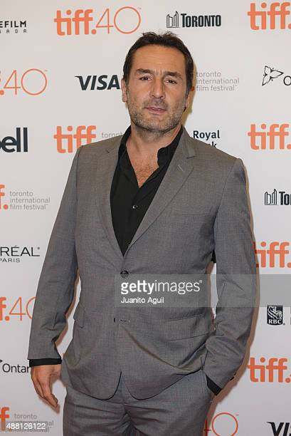 Actor Gilles Lellouche attends the premiere of 'Families' at Princess of Wales Theatre during 2015 Toronto International Film Festival on September...