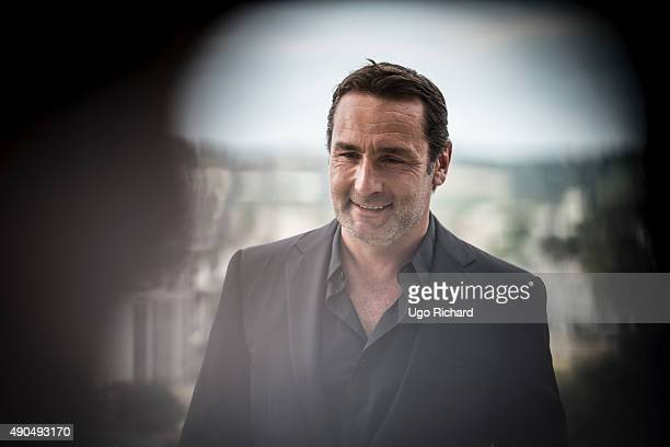 Actor Gilles Lellouche is photographed for Gala on August 31 2015 in Angouleme France