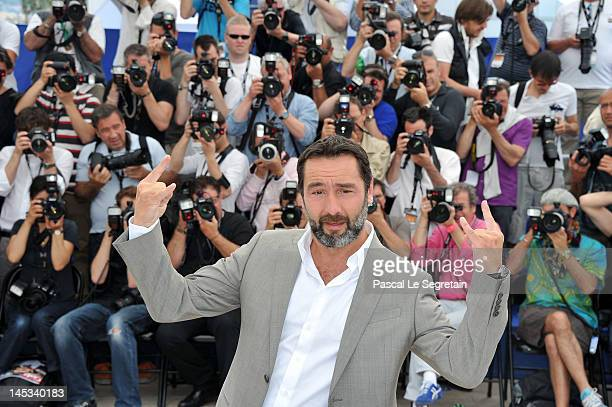 Actor Gilles Lelouche poses at the 'Therese Desqueyroux' Photocall during the 65th Annual Cannes Film Festival on May 27 2012 in Cannes France