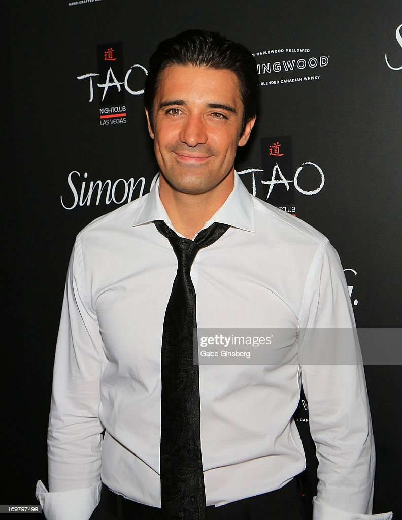 Actor <a gi-track='captionPersonalityLinkClicked' href=/galleries/search?phrase=Gilles+Marini&family=editorial&specificpeople=5360860 ng-click='$event.stopPropagation()'>Gilles Marini</a> arrives at the annual Simon G. Soiree at the Tao Nightclub at The Venetian Las Vegas on June 1, 2013 in Las Vegas, Nevada.