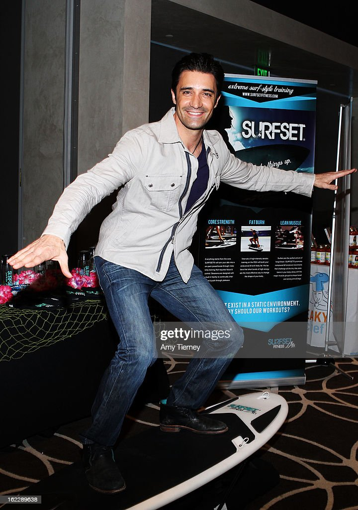 Actor <a gi-track='captionPersonalityLinkClicked' href=/galleries/search?phrase=Gilles+Marini&family=editorial&specificpeople=5360860 ng-click='$event.stopPropagation()'>Gilles Marini</a> attends Kari Feinstein's Pre-Academy Awards Style Lounge at W Hollywood on February 21, 2013 in Hollywood, California.