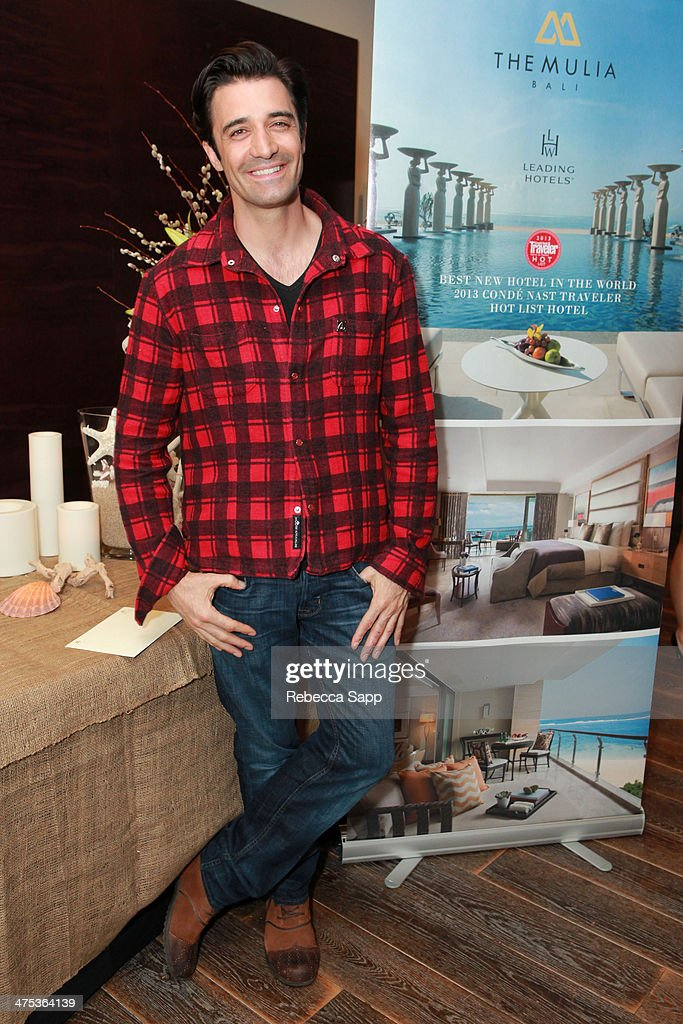 Actor Gilles Marini attends Kari Feinstein's Pre-Academy Awards Style Lounge at the Andaz Hotel on February 27, 2014 in Los Angeles, California.