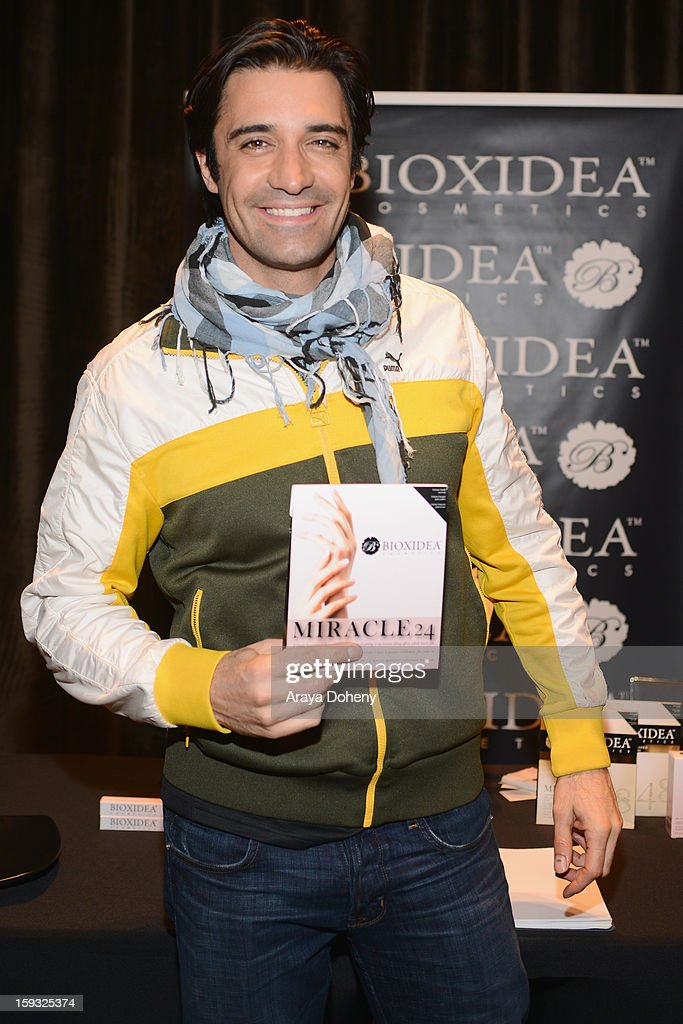 Actor Gilles Marini attends Kari Feinstein's Pre-Golden Globes Style Lounge at the W Hollywood on January 11, 2013 in Hollywood, California.