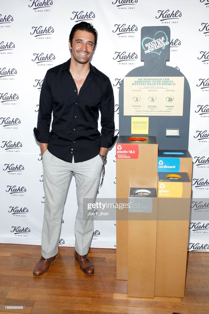 Actor Gilles Marini attends Kiehl's launches environmental partnership benefiting recycle across America at Kiehl's Since 1851 Santa Monica Store on April 17, 2013 in Santa Monica, California.