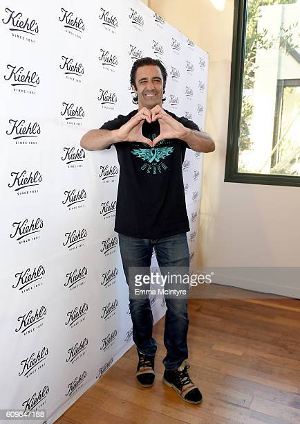 Actor Gilles Marini attends Kiehl's Since 1851 celebration of LifeRide for Ovarian Cancer Research Fund Alliance at Kiehl's Since 1851 on September...