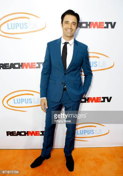 Actor Gilles Marini attends Lupus LA's Orange Ball Rocket to a Cure at the California Science Center on April 22 2017 in Los Angeles California
