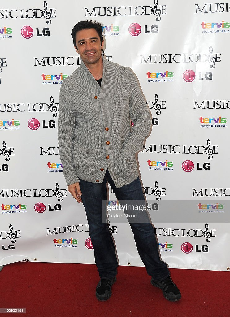 Actor <a gi-track='captionPersonalityLinkClicked' href=/galleries/search?phrase=Gilles+Marini&family=editorial&specificpeople=5360860 ng-click='$event.stopPropagation()'>Gilles Marini</a> attends The 10th Anniversary LG Music Lodge At Sundance With Elio Motors And Tervis on January 19, 2014 in Park City, Utah.