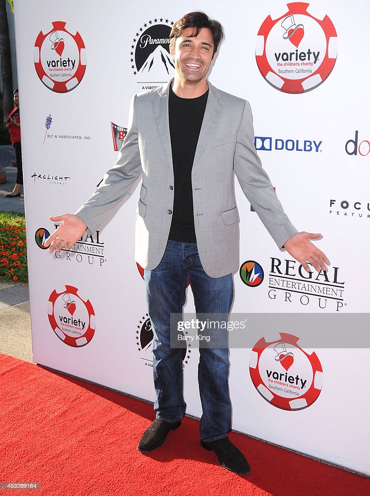 Actor <a gi-track='captionPersonalityLinkClicked' href=/galleries/search?phrase=Gilles+Marini&family=editorial&specificpeople=5360860 ng-click='$event.stopPropagation()'>Gilles Marini</a> attends the 4th annual Variety's Texas Hold 'Em poker tournament to benefit 'The Children's Charity Of Southern California' at Paramount Studios on July 16, 2014 in Hollywood, California.