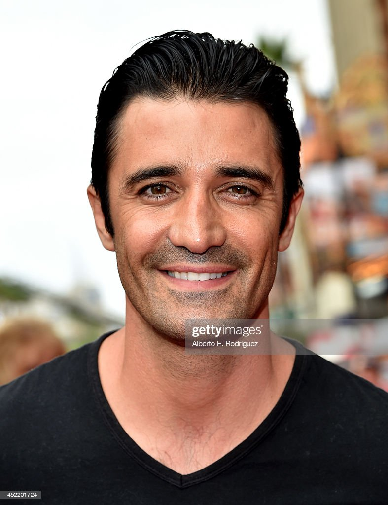 Actor <a gi-track='captionPersonalityLinkClicked' href=/galleries/search?phrase=Gilles+Marini&family=editorial&specificpeople=5360860 ng-click='$event.stopPropagation()'>Gilles Marini</a> attends World Premiere Of Disney's 'Planes: Fire & Rescue' at the El Capitan Theatre on July 15, 2014 in Hollywood, California.