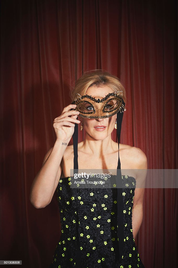 Actor Gillian Anderson is photographed for ES magazine on September 8, 2014 in London, England.