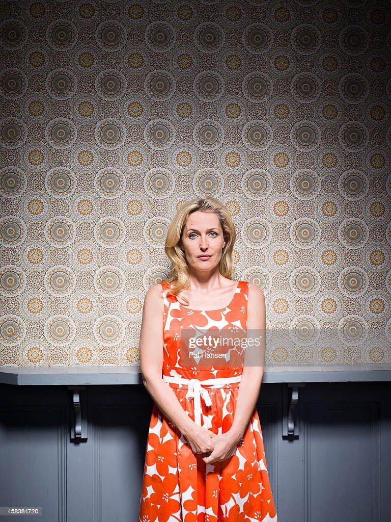 Gillian Anderson, Sunday Times magazine UK, July 6, 2014