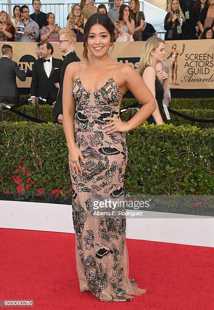 Actor Gina Rodriguez attends the 23rd Annual Screen Actors Guild Awards at The Shrine Expo Hall on January 29 2017 in Los Angeles California