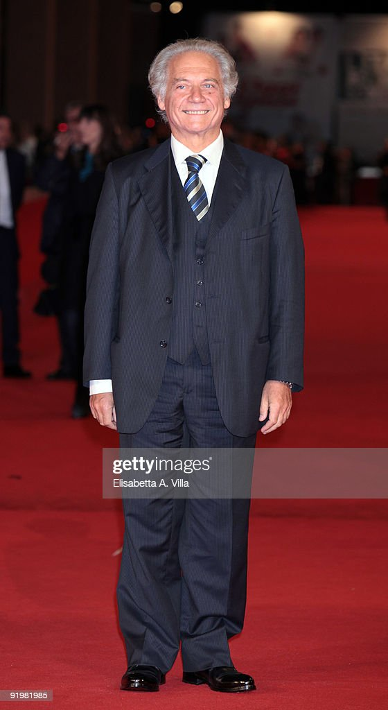 Actor Giorgio Colangeli attends the 'Alza La Testa' Premiere during day 4 of the 4th Rome International Film Festival held at the Auditorium Parco della Musica on October 18, 2009 in Rome, Italy.
